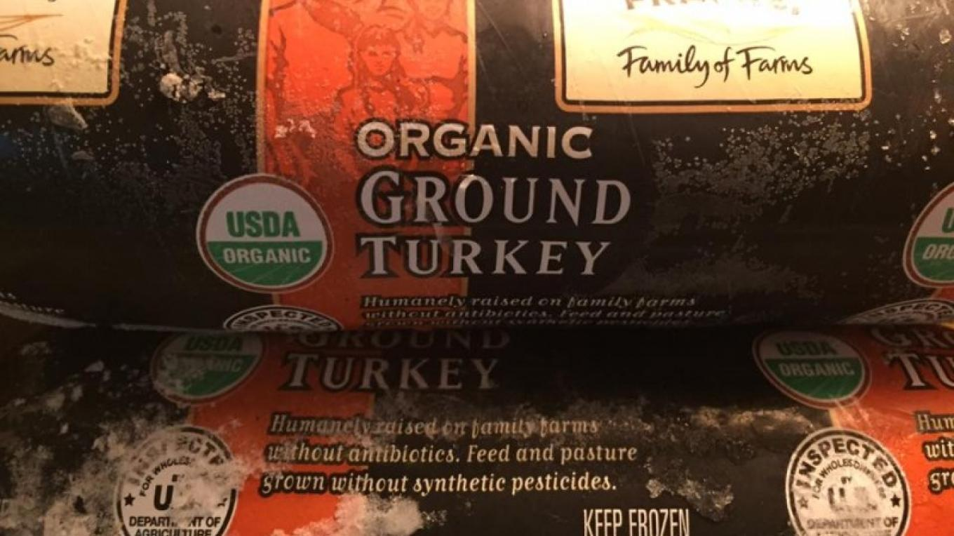 Organic ground turkey – bacchusfinefood