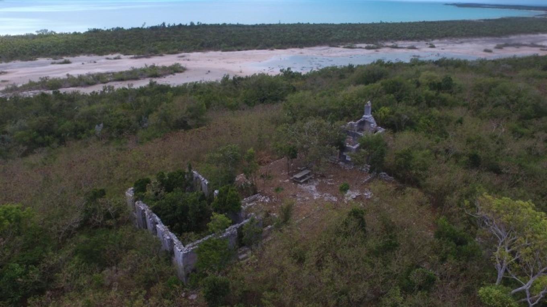 Aerial Shot of the entire Adderley's Plantation Ruins – Mr. Richard Keyworth