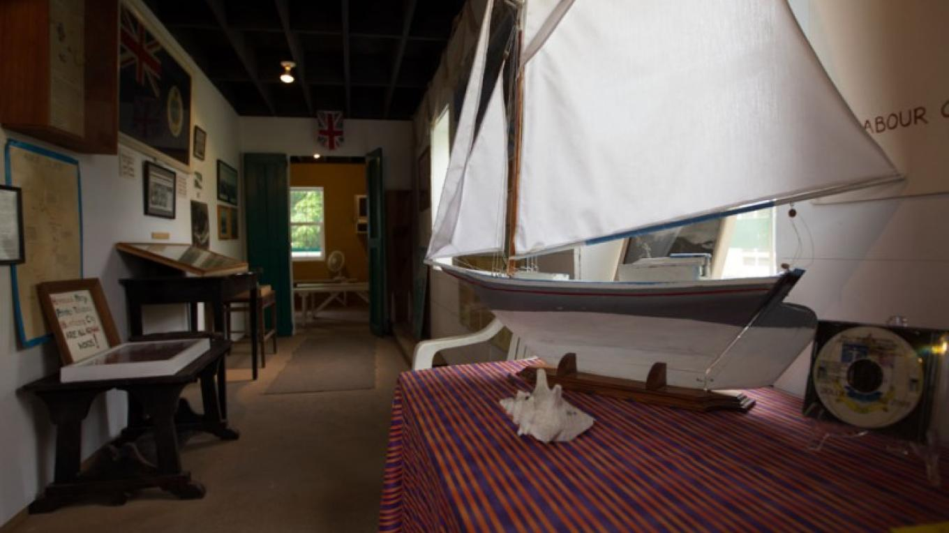 Miniature boat display inside the Wyannie Malone Historical Museum – Bahamas Ministry of Tourism