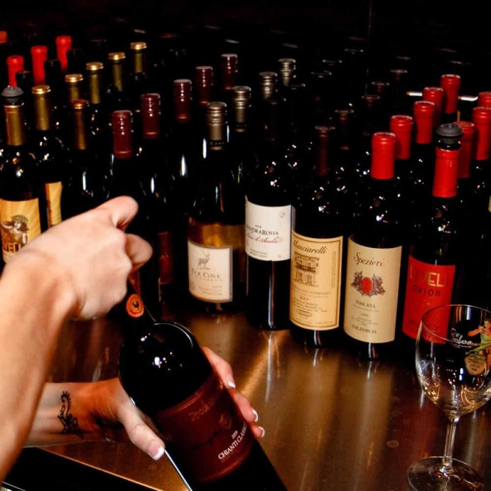 Great Selection of Italian and Domestice Wines – Brett Fontana
