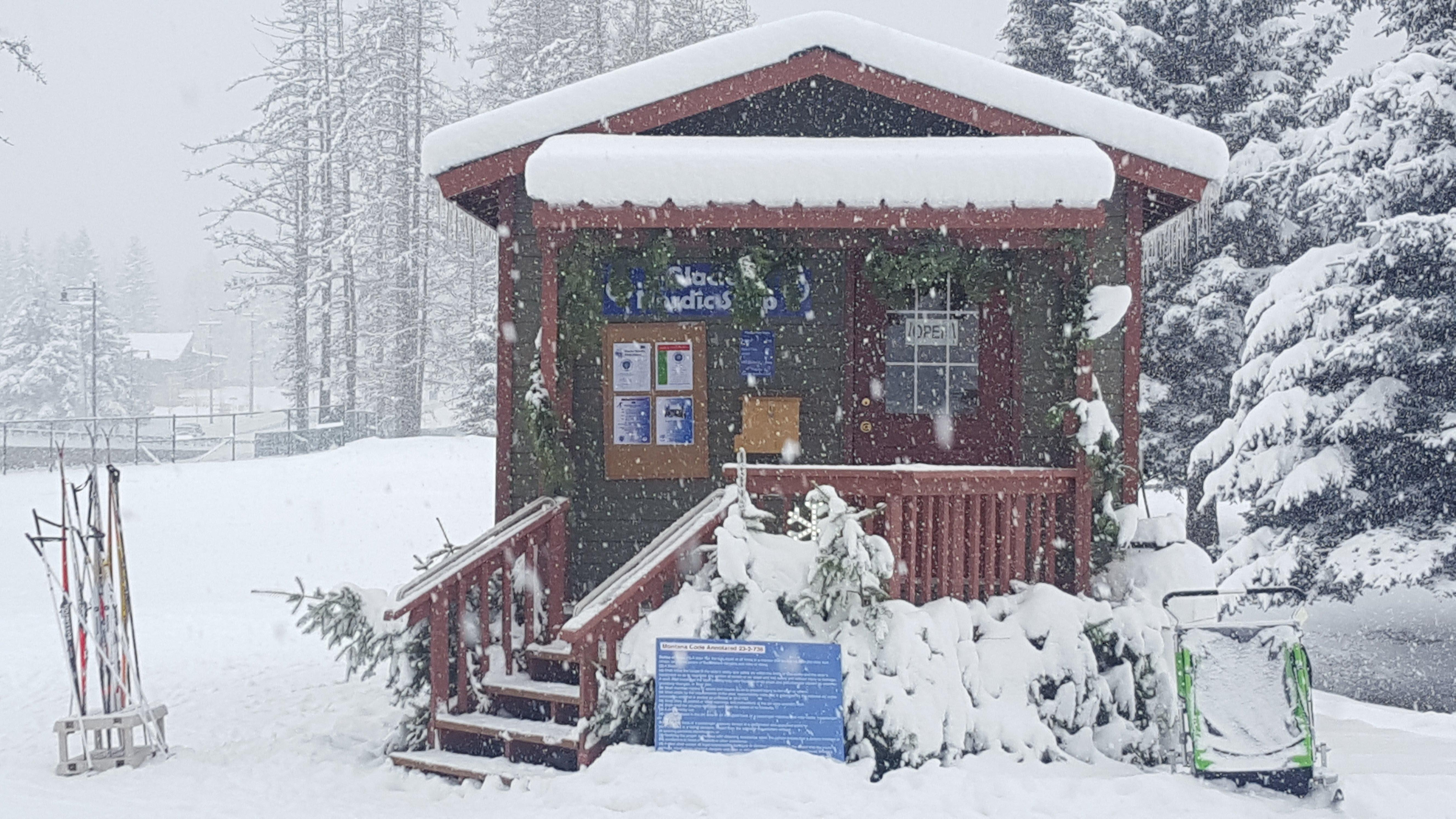 Glacier Nordic Shop at the Whitefish Lake Golf Course