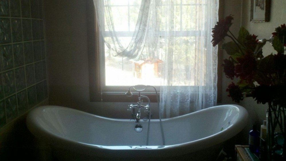 Jetted claw foot tub – bill montgomery