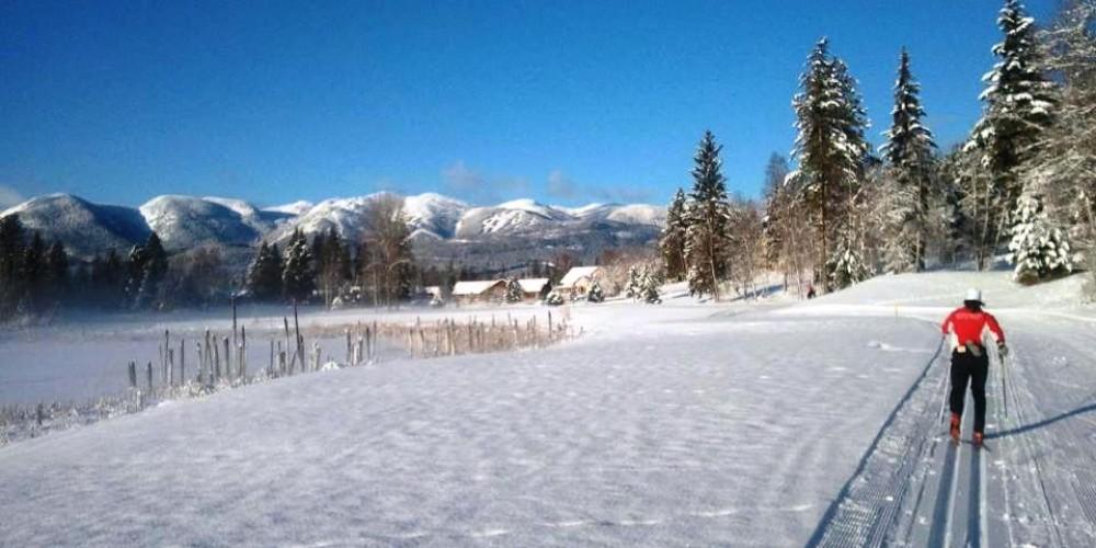 Bluebird day classic ski