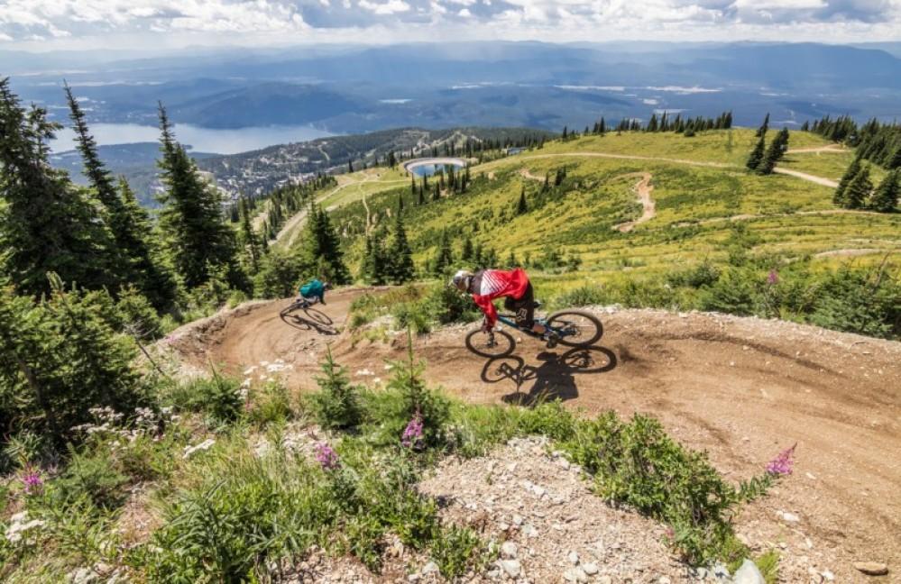 Whitefish Bike Park – Copywright - Whitefish Mountain Resort