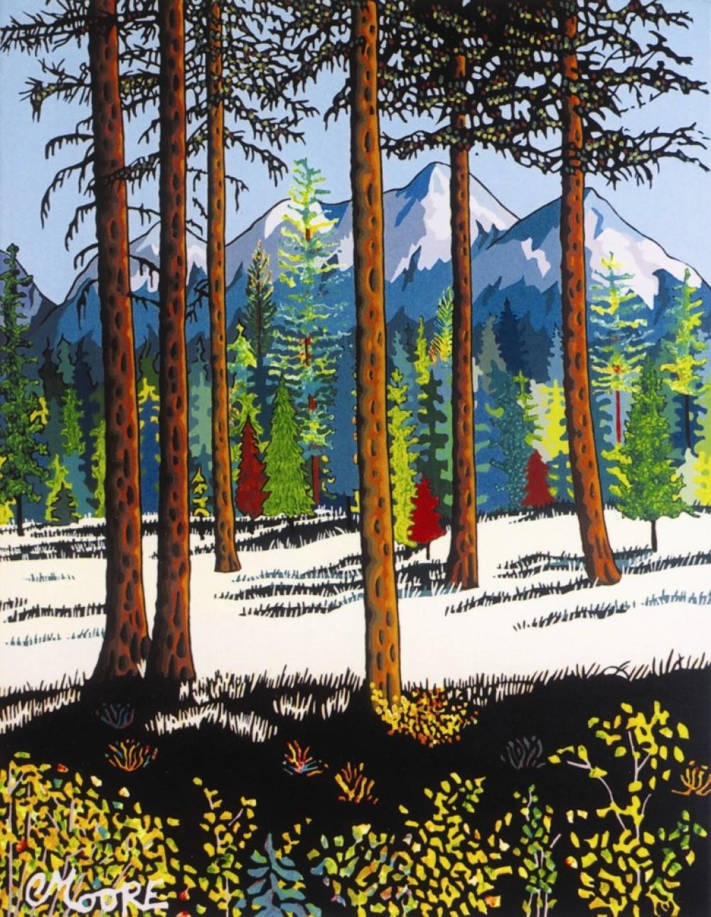 North Fork Treescape