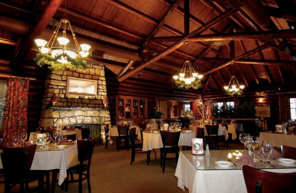Dine in a classic and historical settingWhitefish Lake Restaurant – Courtesy of Whitefish Lake Restaurant