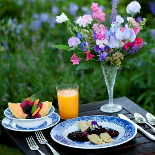 Our breakfasts feature local produce & products