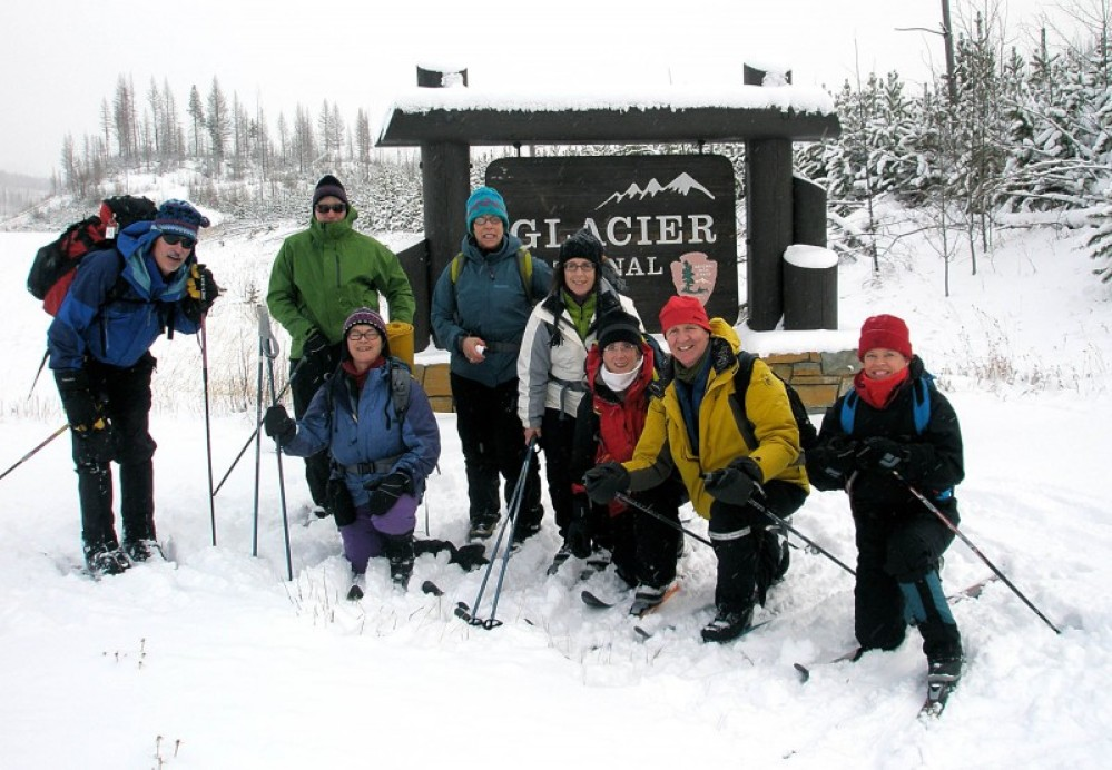 Enjoying a ski around McGhee meadows and the Camas Road in December. – Devin Schmit