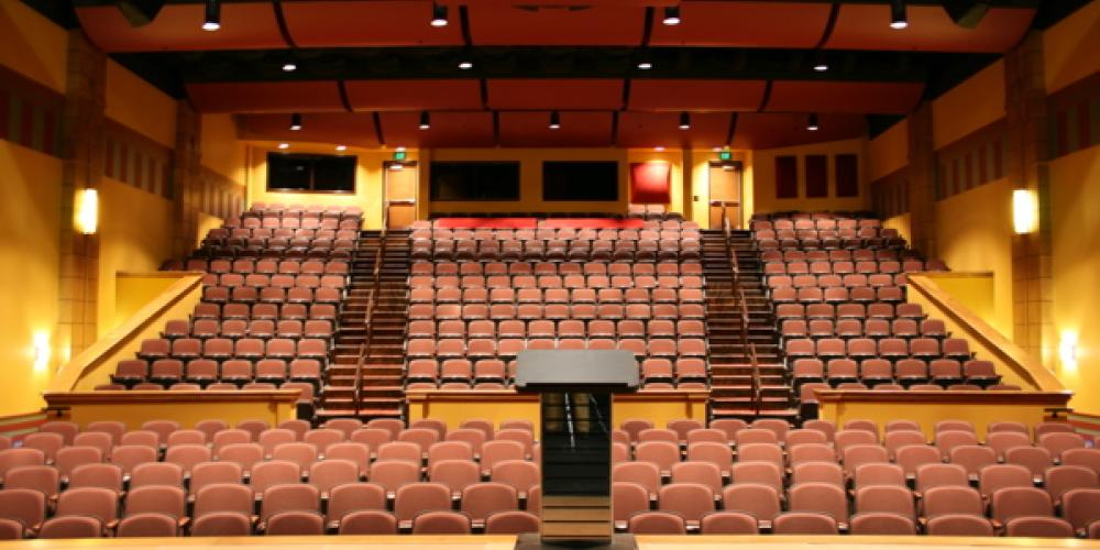 Inside the Whitefish Performing Arts Center – John Frandsen