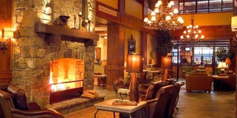 Whitefish Lake Lodge Lobby