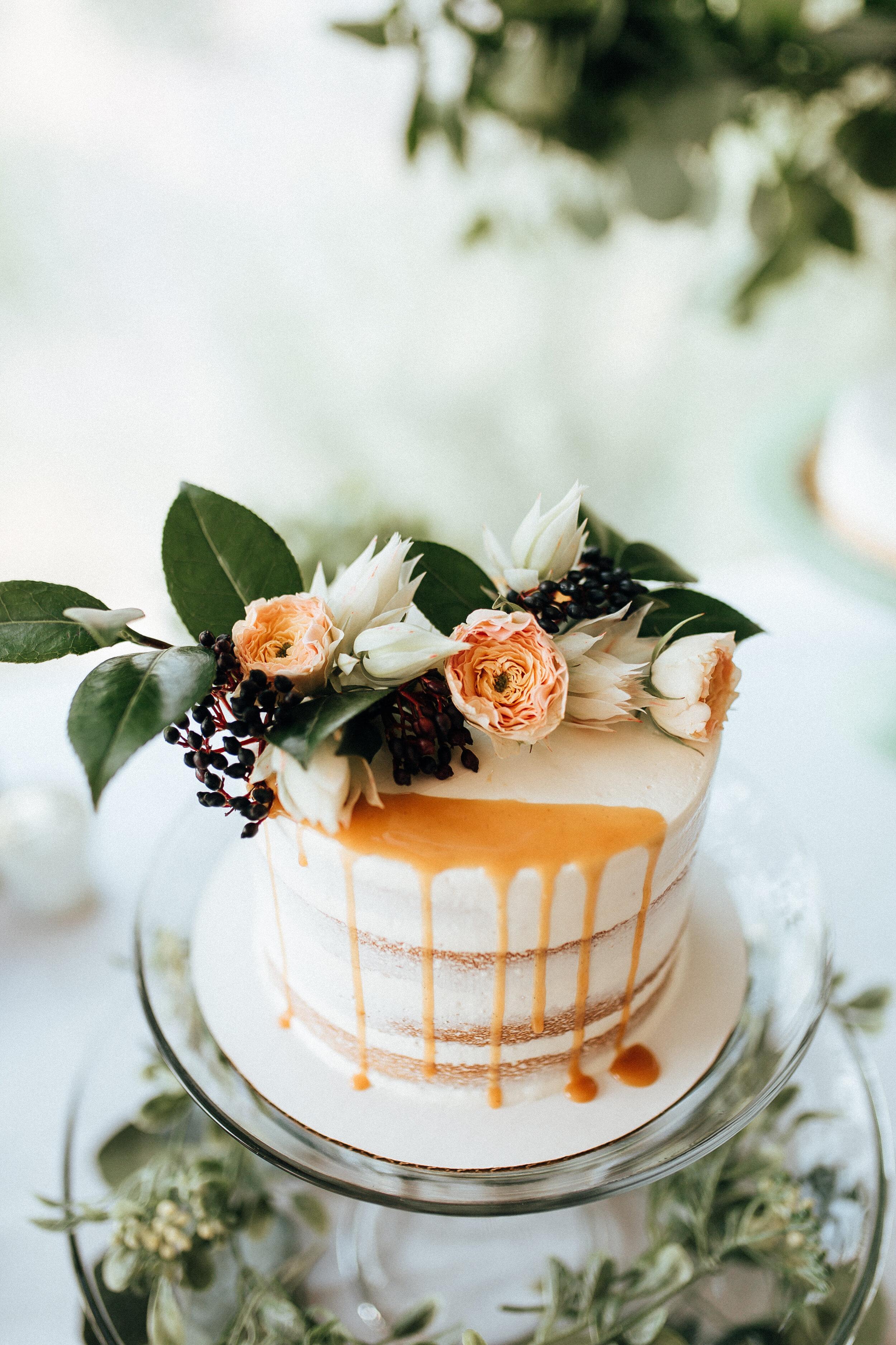Scratch made wedding cakes