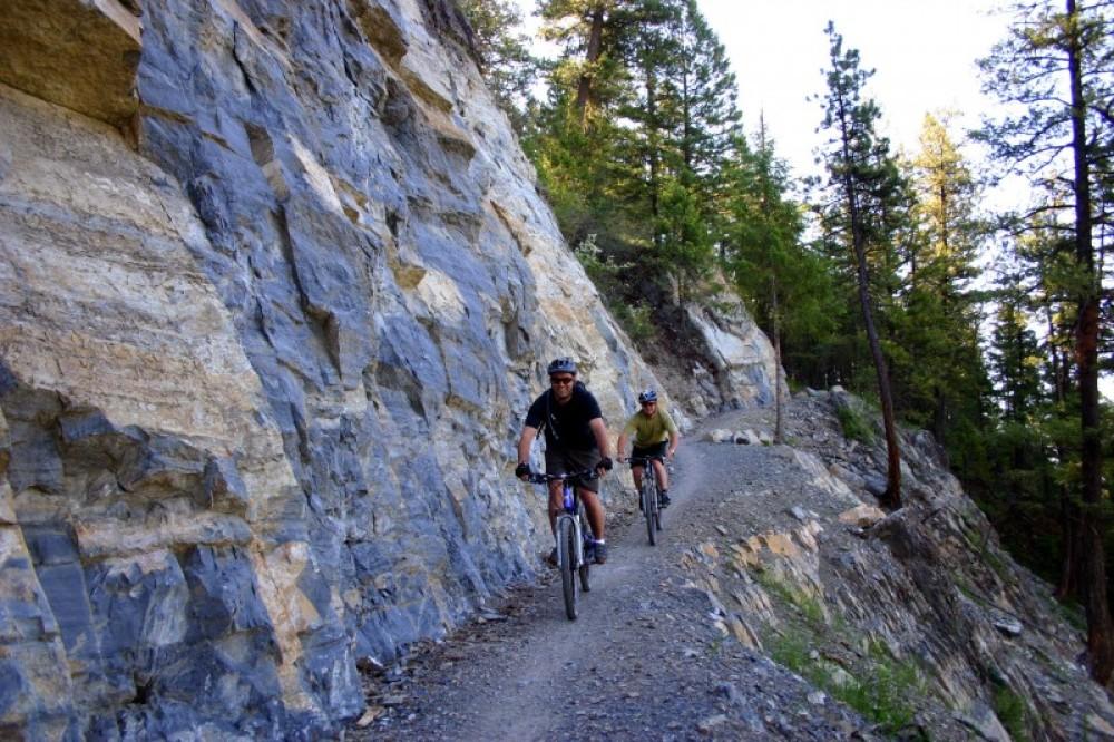 Biking the Whitefish Trail. – Brian Schott