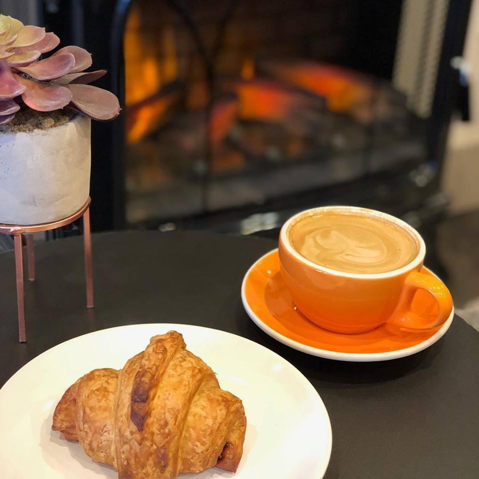 Coffee & a croissant