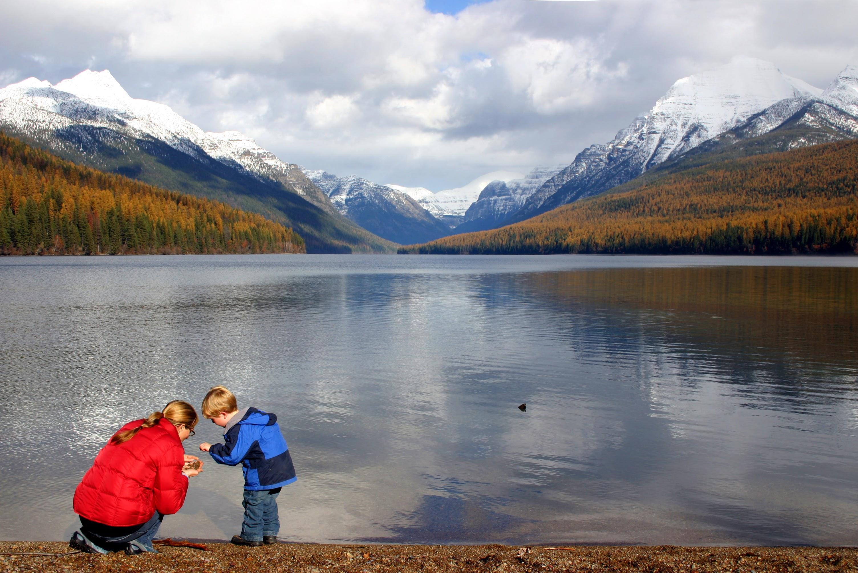 Bowman Lake in Glacier National Park // Photo: Brian Schott