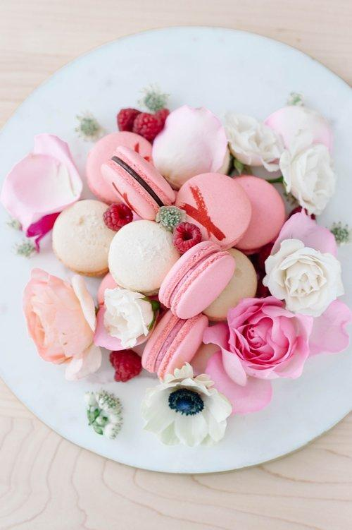 Macaroons are a specialty
