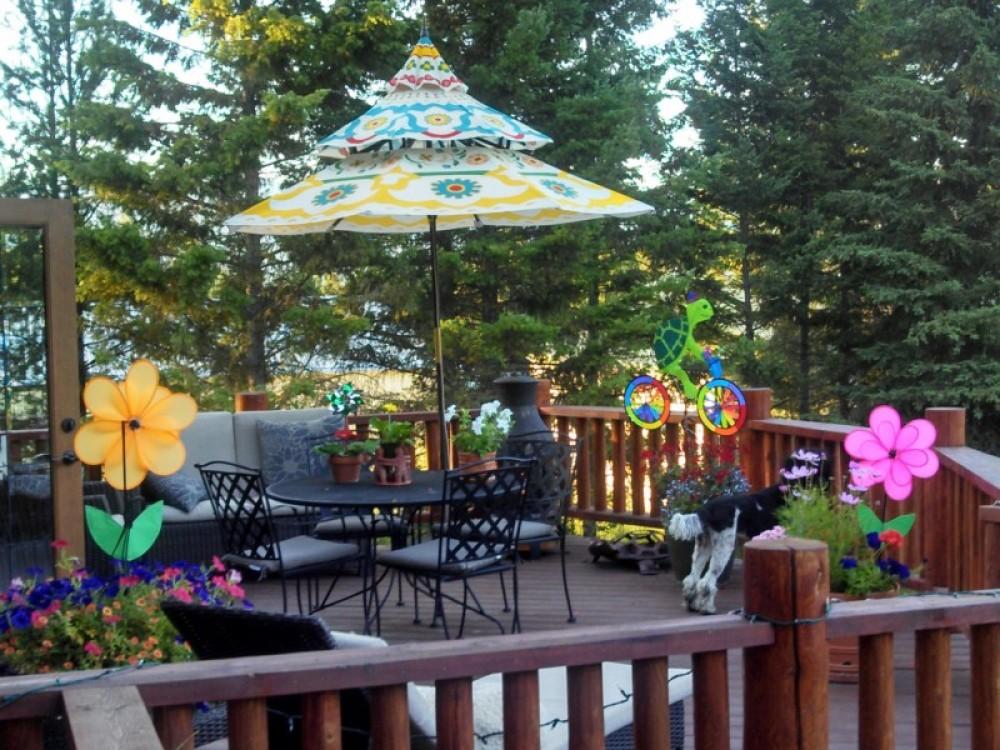 Outdoor dining deck – bill montgomery