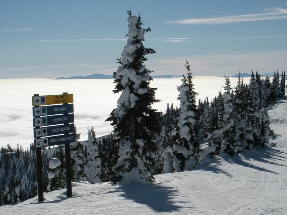 Whitefish Mountain resort summit