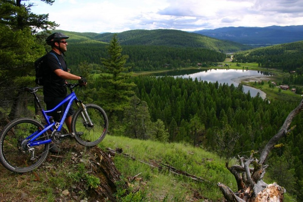 View over Skyles Lake from the Whitefish Trail – Brian Schott