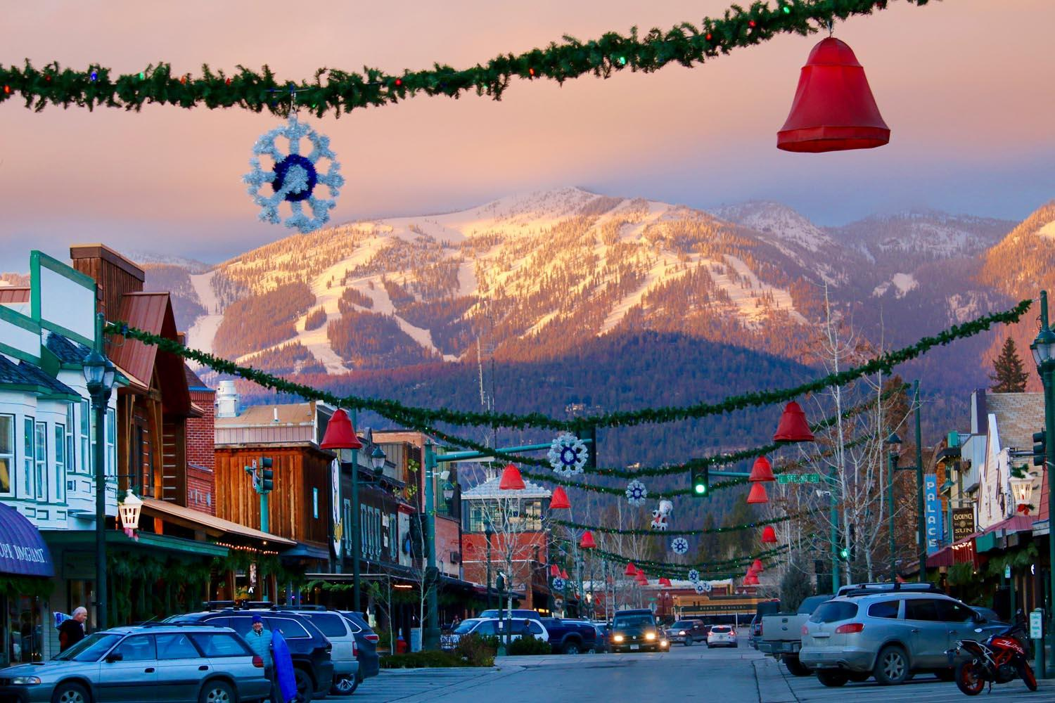 mountain towns America