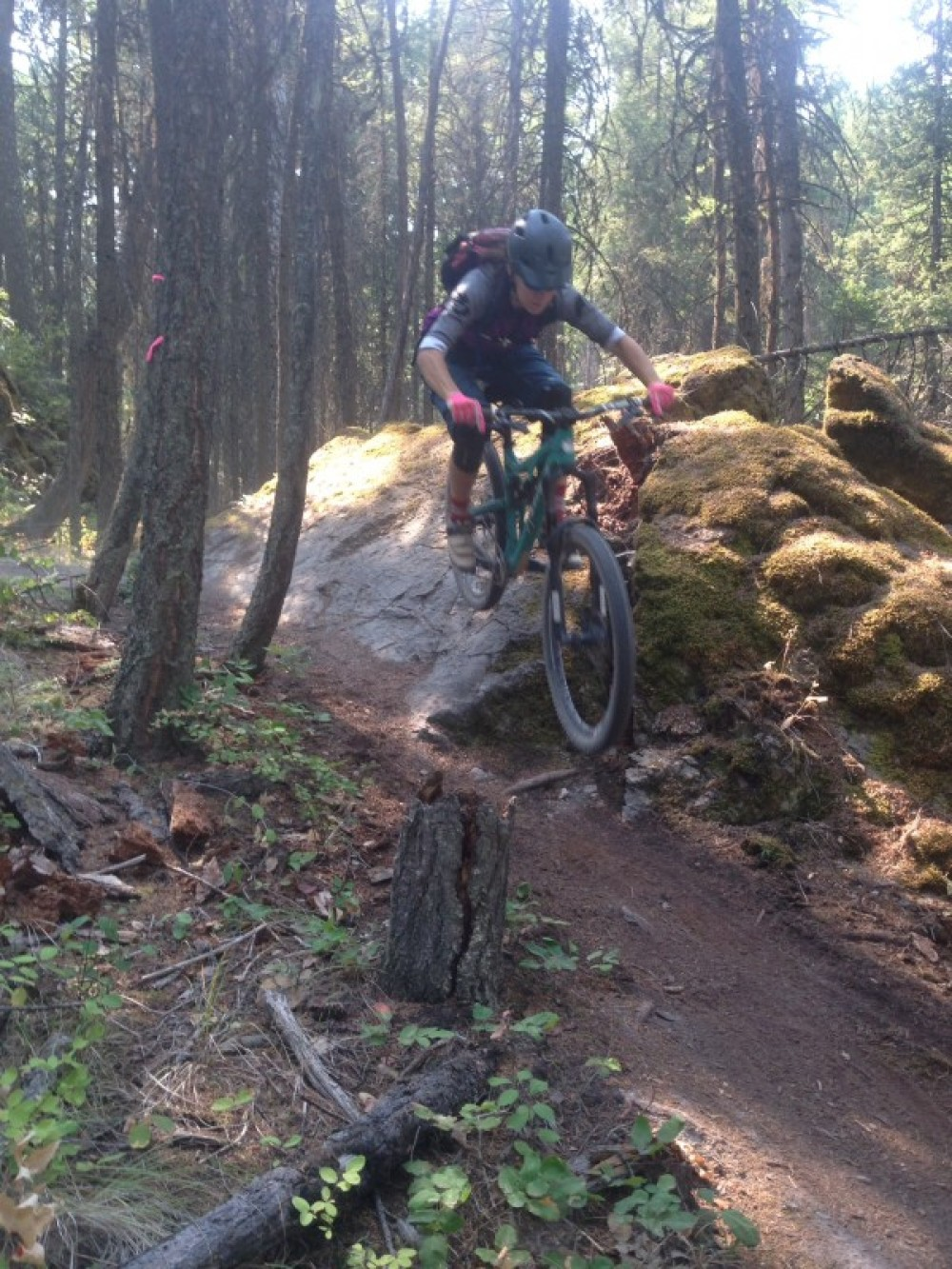 Riding at Spencer Mountain – Jessica Downing