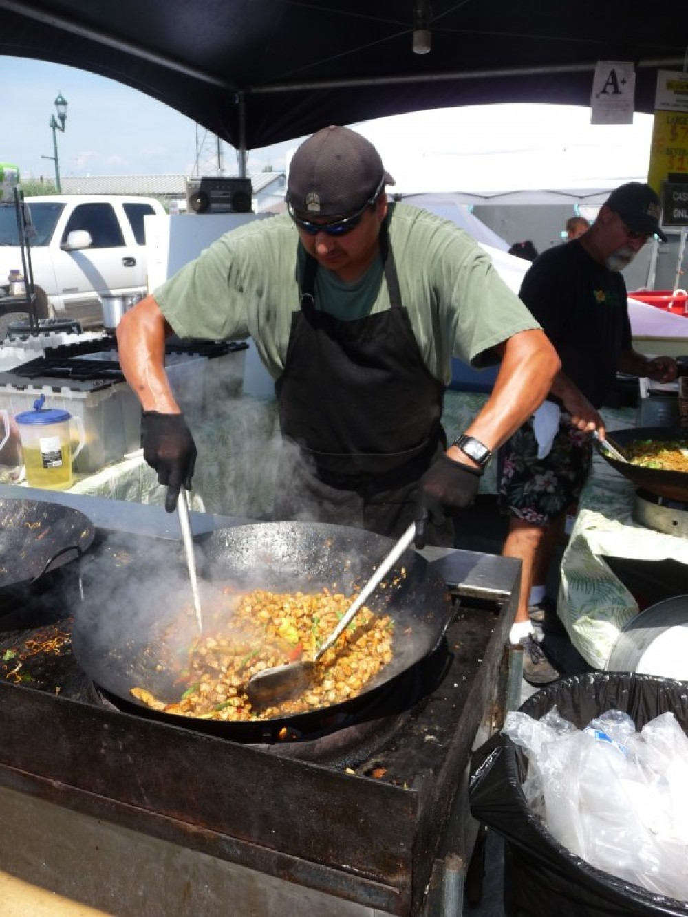 Good eats! You won't go hungry at Huckleberry Days! – Sarah Stewart
