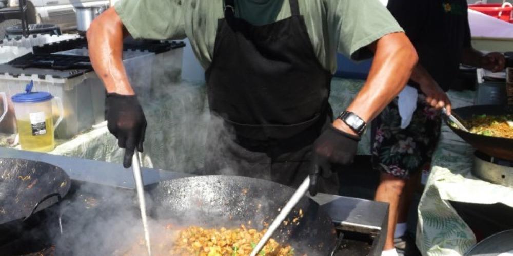 Good eats! You won't go hungry at Huckleberry Days! – Sarah Stewart