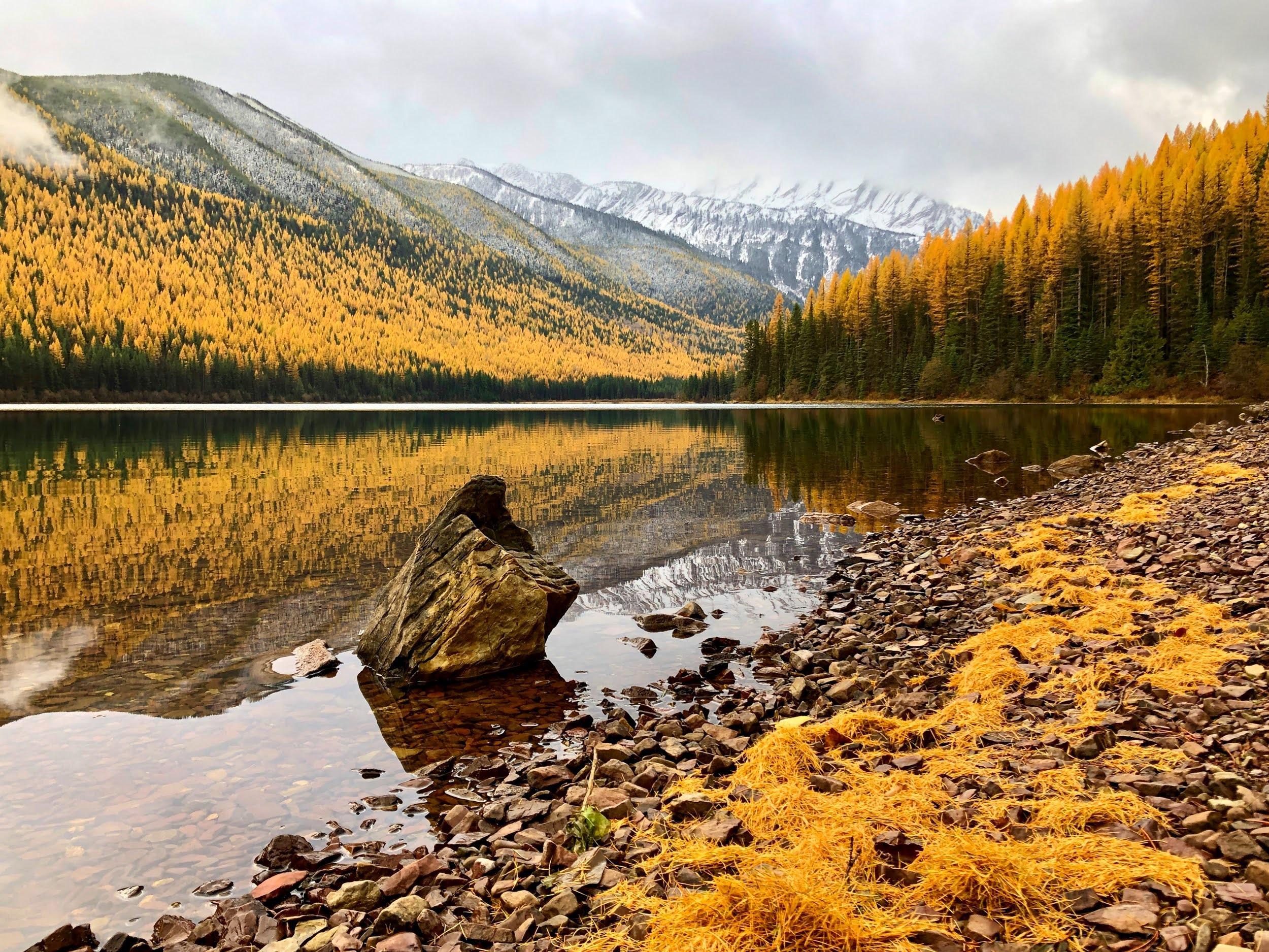 Fall at Stanton Lake