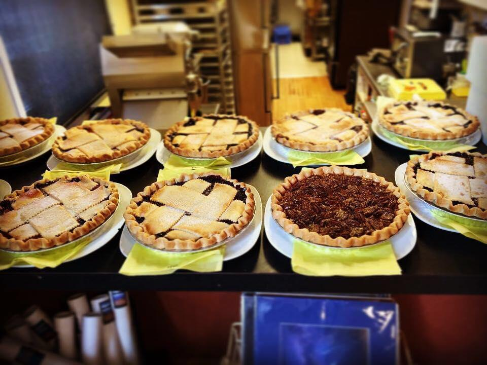 So. Many. Pies.