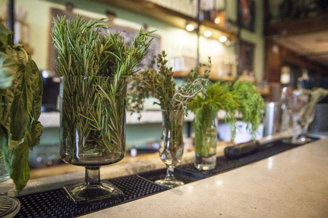 Fresh ingredients in our handcrafted cocktails is our raison d'être