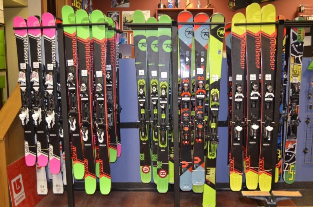 Rental Ski fleet