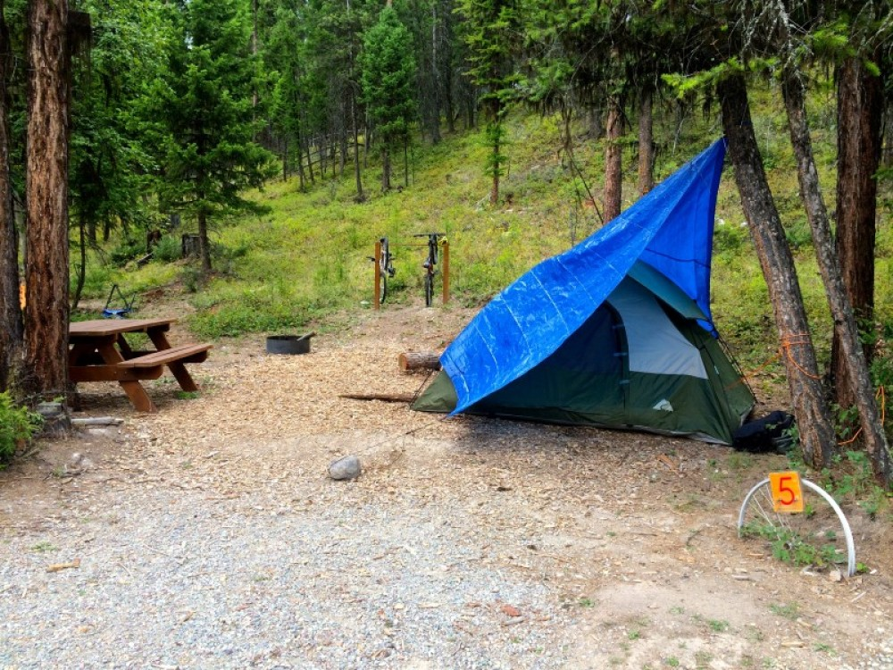 Campground Site At Retreat – Cricket Butler