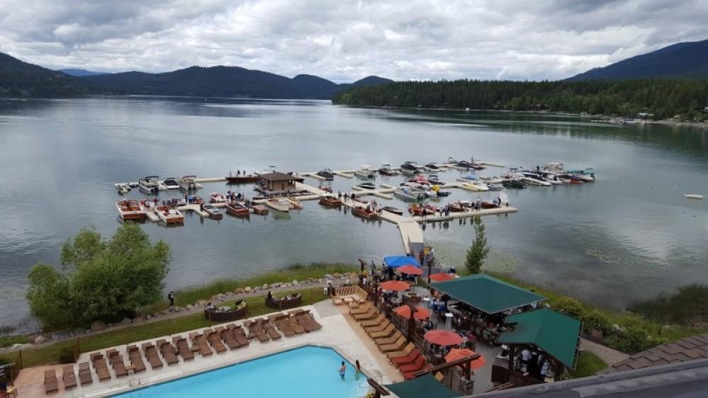 The Lodge at Whitefish Lake marina. – Tim Salt
