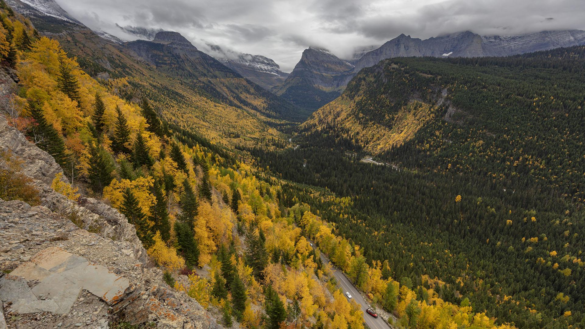 McDonald Valley in the Fall // Photo: Chuck Haney