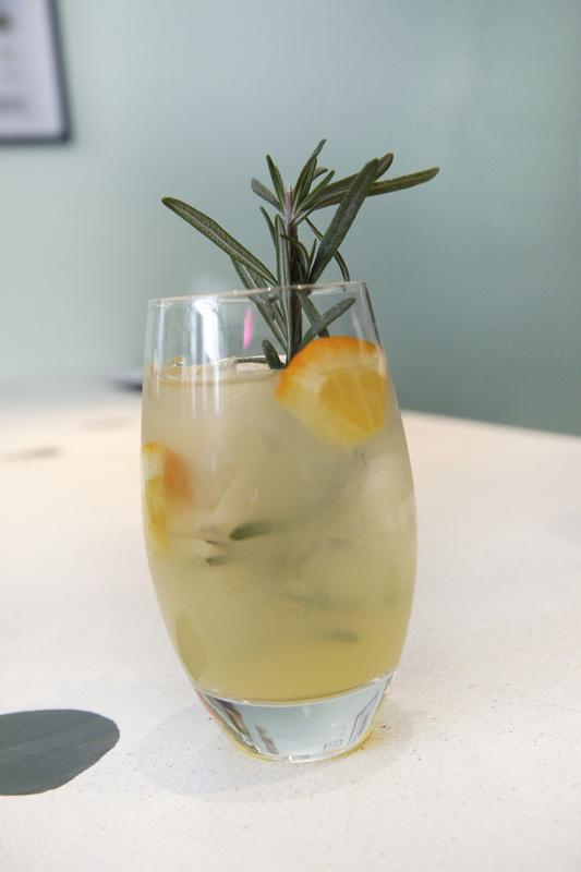 Our tasting room serves up hand crafted cocktails with fresh squeezed juices & fresh herbs