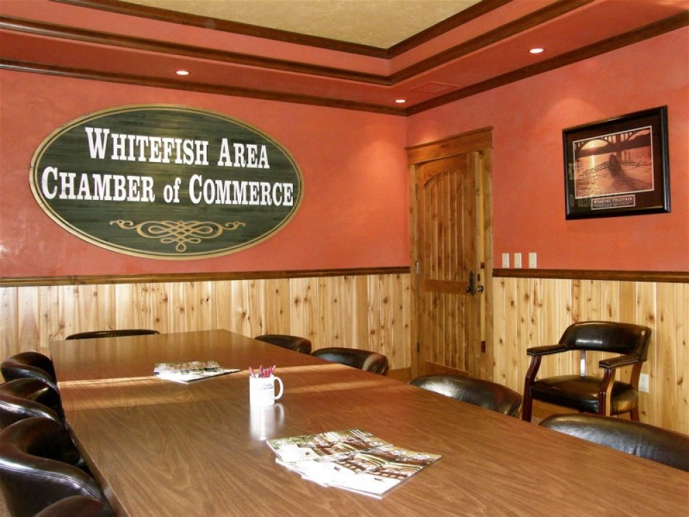 The Chamber's conference room is available for members and is host to quarterly brown bag lunchs with timely topics for business owners. – Bill Milner