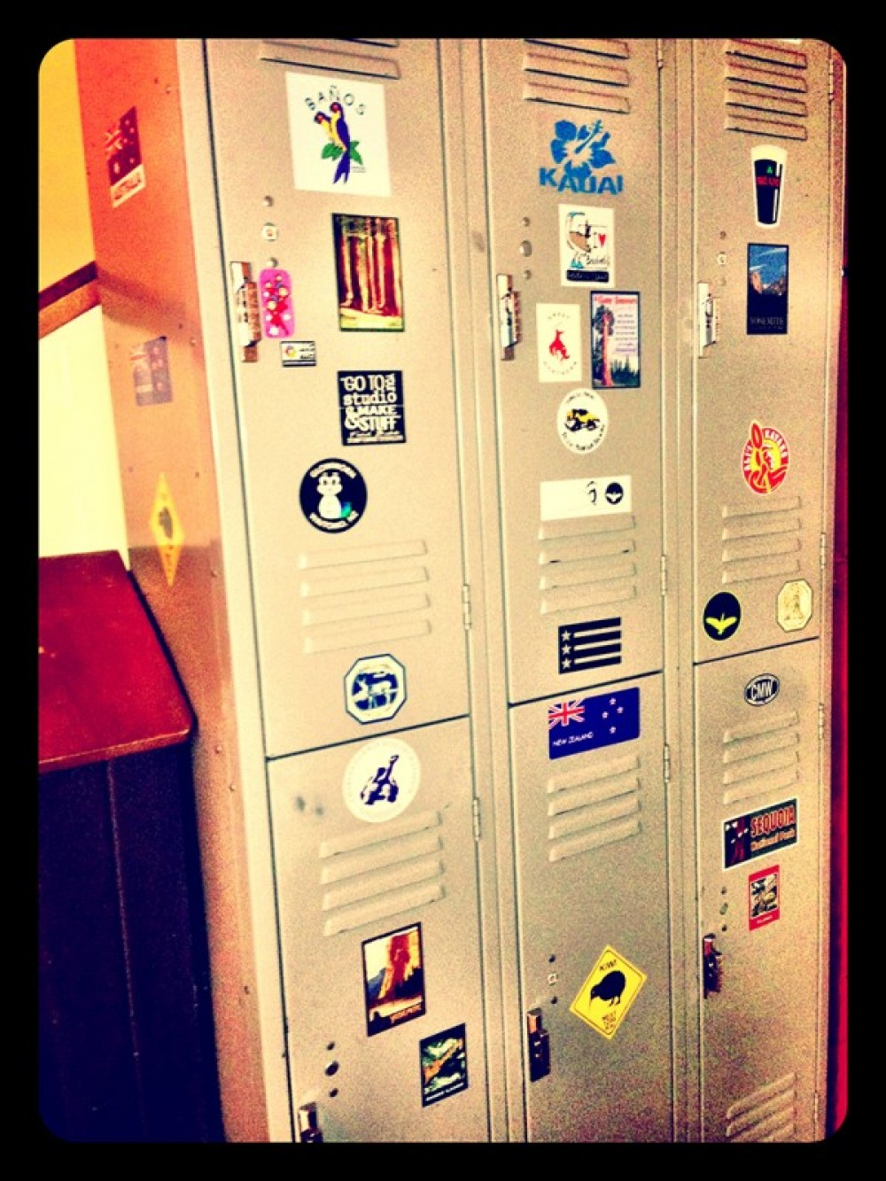 Lockers for Guests – Lynon Lohof