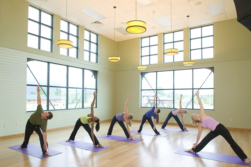 Yoga Class – Living Images Photography