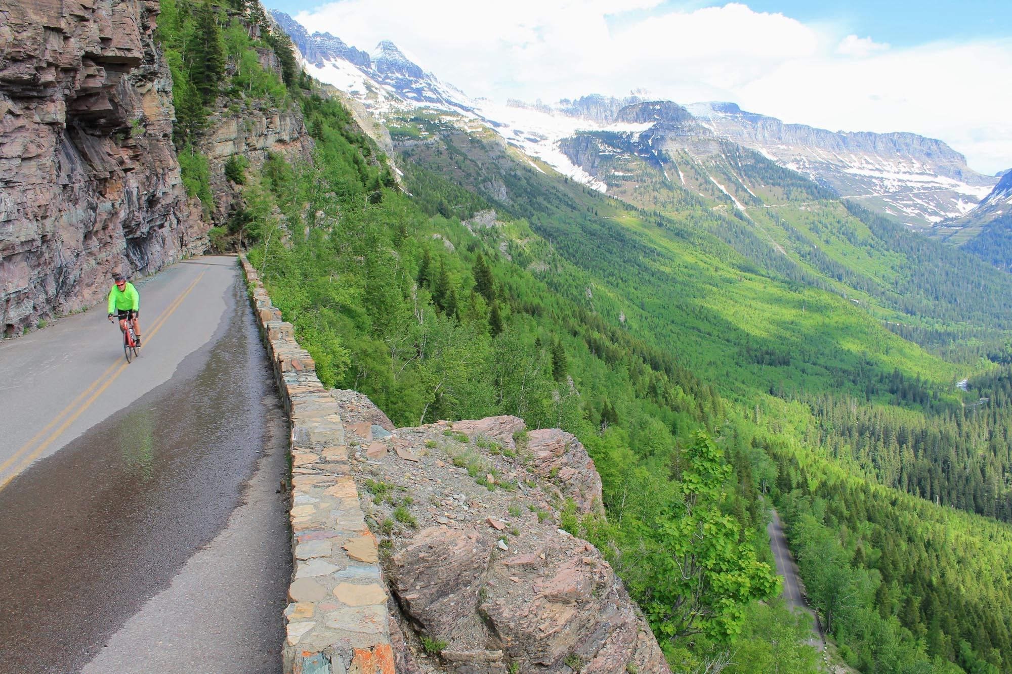 Going-to-the-Sun Road is truly an engineering marvel