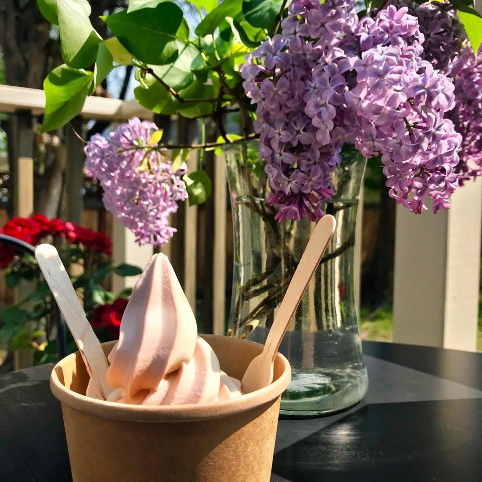 Top off your meal with a soft serve!