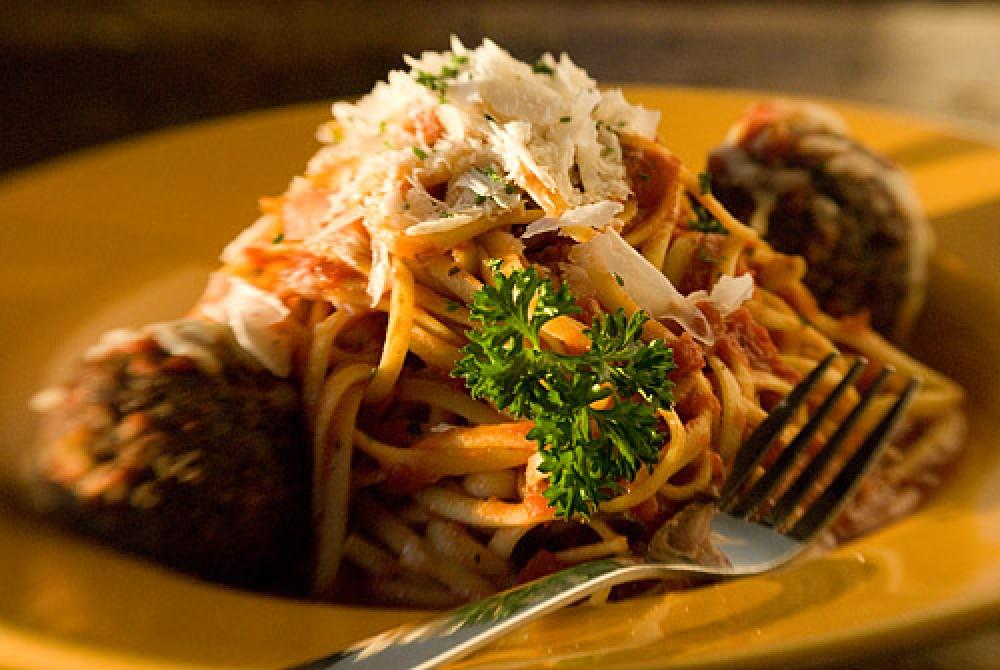 Spaghetti & Meatballs Salvatore, Delish! – Heidi Long