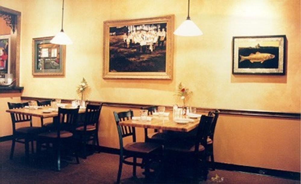 inside of restaurant – Patrick Carloss