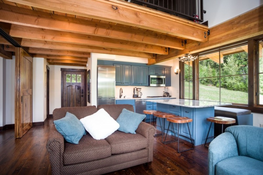 Thoughtful design keeps this space-efficient chalet spacious - guests always think it's twice the size! – Trevon Baker