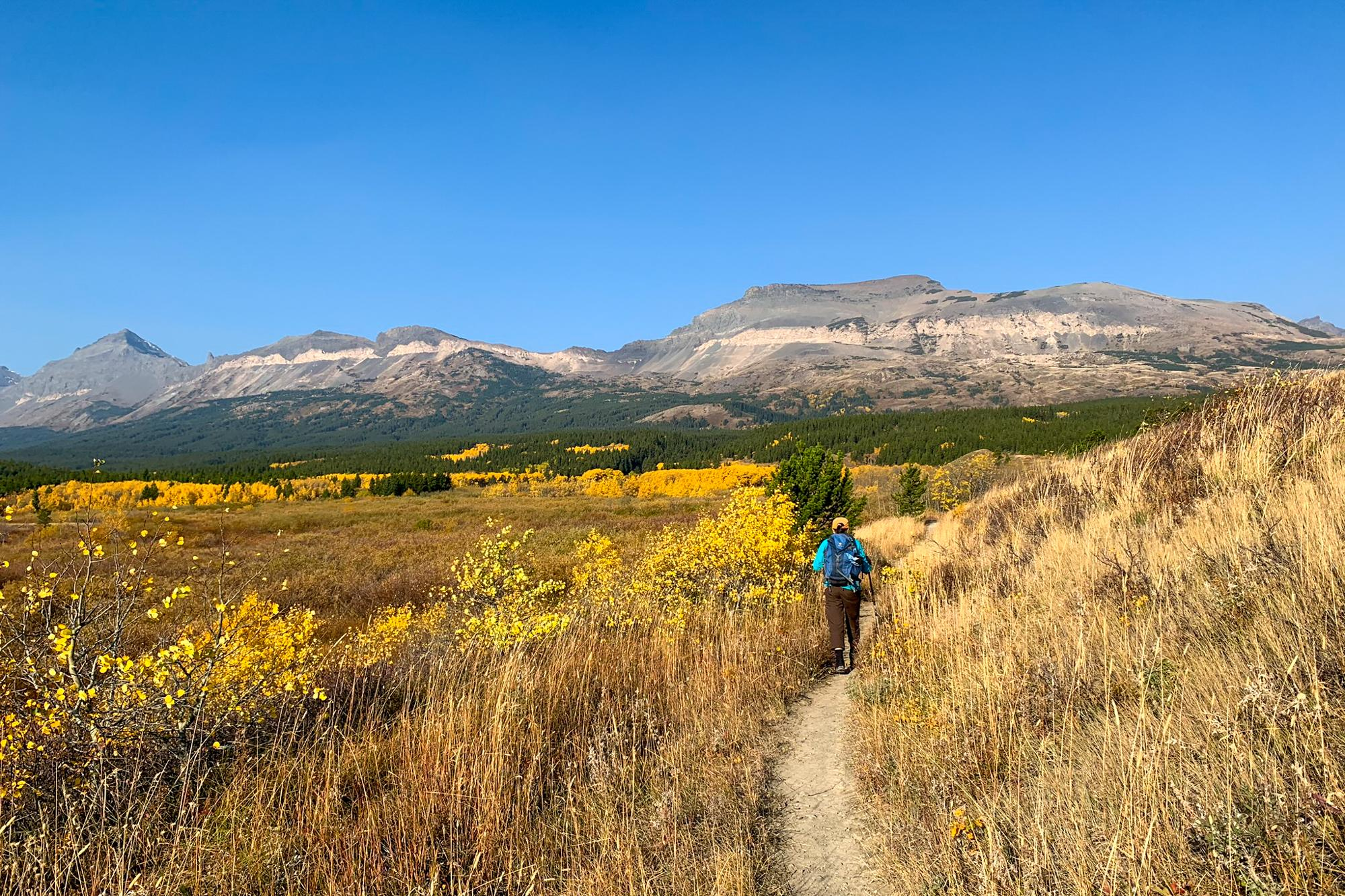 Hiking to Firebrand Pass in Glacier National Park