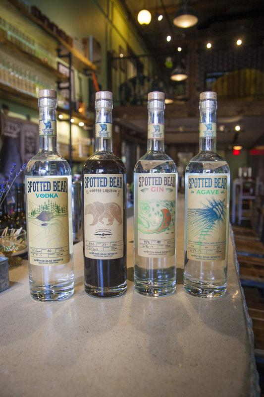 Spotted Bear Spirits are handcrafted in Whitefish Montana