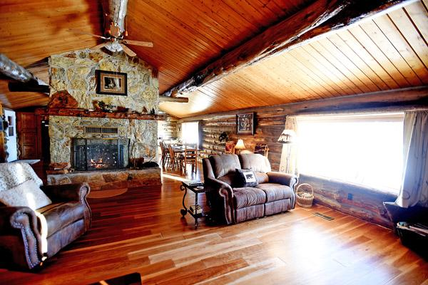 Chisum Lodge Interior
