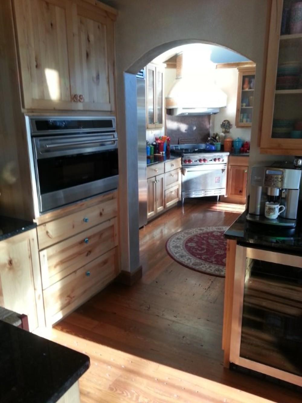 Kitchen from coffee bar – Bill Montgomery