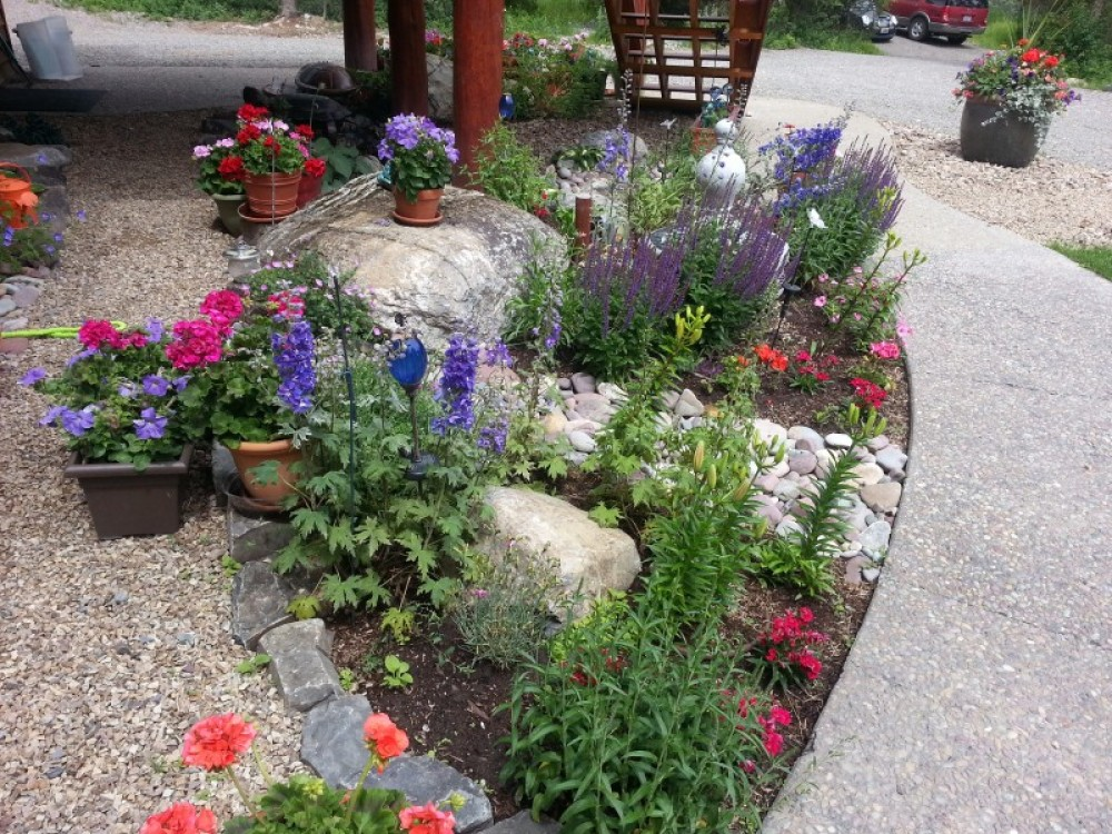 Entrance flowers – bill montgomery