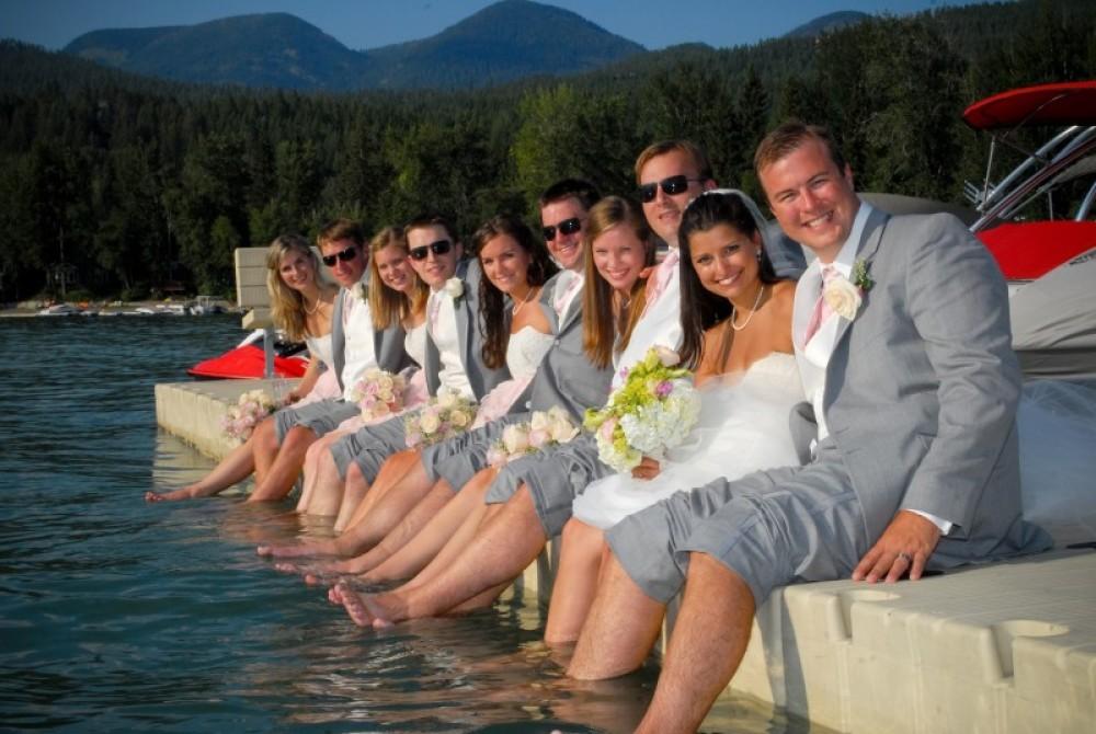 Wedding at the Lodge at Whitefish Lake
