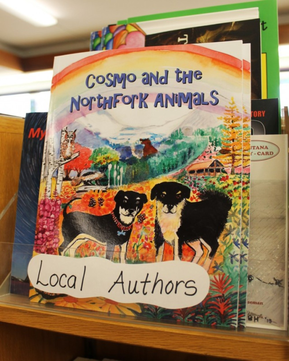 If you love getting lost in a good read, make sure Bookworks is on your list. Local authors range from Children's picture books, to local history to autobiographical tales.
