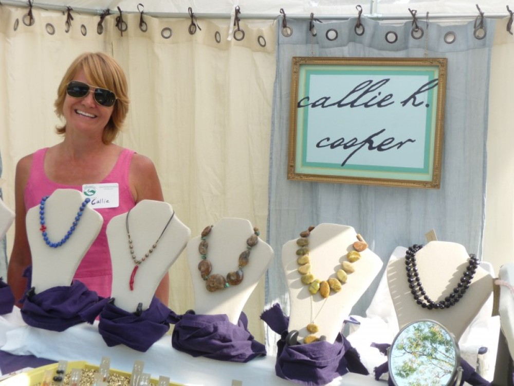Beautiful handcrafted jewelry can be had from a variety of artists. – Sarah Stewart